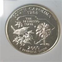 2000-S NGC PF69 Ultra Cameo So. Carolina Quarter
