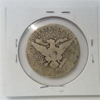 1906 & 1907-D Barber Half Dollar