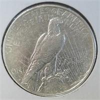 1926-D 90% Silver Peace Dollar