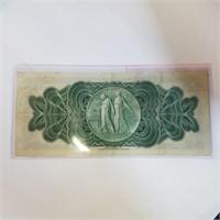 1933 City of Detroit $1 Dollar Bill Bank Note