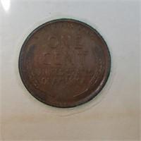 1909 VDB Penny & 1964 Kennedy Half Dollar