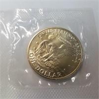 1972 UNC Ike Dollar 40% Silver