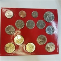 2012 United States UNC Coin Set Denver