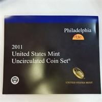 2012 United States UNC Coin Set Philadelphia
