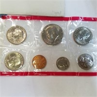 Uncirculated 1980 US Mint Set