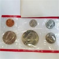 Uncirculated 1974 US Mint Set