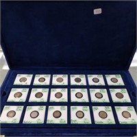 Case Full of Silver Foreign Coins