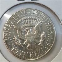 1968 & 1969 40% Silver Kennedy Half Dollars