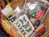 Basket of Hobby Items