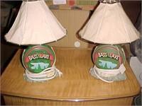 Pair of Bass Lake Lamps