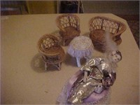 Doll Furniture and Musical Clown Doll