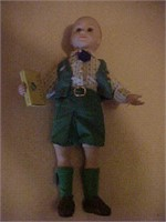 Girl Scout Doll Selling Cookies