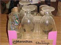 Clear Glassware Lot