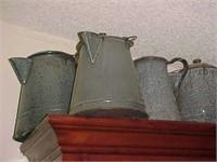Gray Vintage Coffee Pots