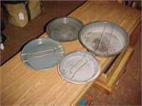 Metal Pie Pan Lot