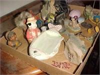Box Lot of Assorted Small Decor