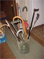 Walking Stick and Cane Lot