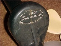 Battery Powered Marine Propeller