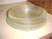 Clear Glass Pie Pans