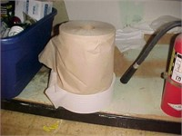 Roll of Industrial Paper Towels & Toilet Paper