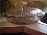 Vintage Kitchenware - Serving Bowl with Lid