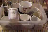 Tub of Coffee Cups