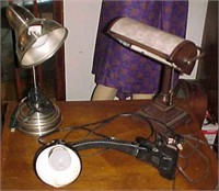 Desk Lamp Lot