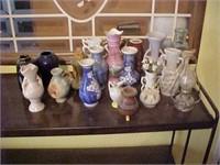 Miniature Vase Lot