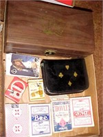 Wooden Poker Chip Box and More