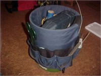 Tool Bucket with Tools