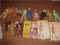 Vintage Movable Toy Figurines