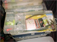 Plastic Containers of Fishing Equipment