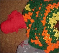 Crochet and Material Lot