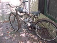 Vintage Motorized Bicycle