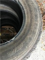 (4) Truck Tires  - 275/70R18