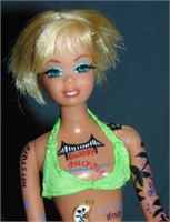 Custom Goldie Hawn Painted Laugh In Barbie Doll