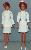 (2) 1970-71 Julia TNT Dolls & Exclusive Outfits