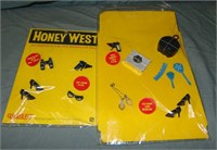 Boxed Gilbert Honey West Doll and Accessories