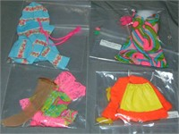 (10) Vintage 1960/70's Barbie Doll Fashion Outfits