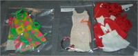 (10) Vtg 1960/70's Francie Doll Fashion Outfits