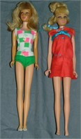 Vintage Francie Doll & Fashion Outfit Lot