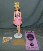 1970 Francie Grow Pretty Hair Doll #1129