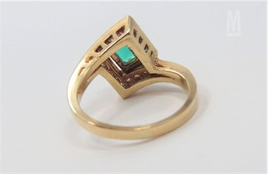 Emerald And Diamond Ring Other Items For Sale 1 Listings