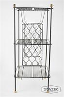 Decorative Metal Shelf