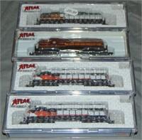 4 Atlas N Gauge Diesels
