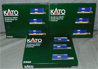 6 Kato N Gauge APL Double Stack 3-Packs