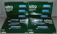 8  Kato N Gauge APL Double Stack 3-Packs