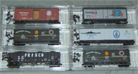 22 Assorted Atlas & Micro Trains N Gauge Freight