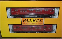MTH RailKing 30-2392-1 & -3 MTA Subway Set