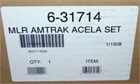 Lionel 31714 Amtrak Acela Passenger Set